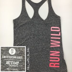Old navy Active Semi-Fitted Tank - Size XS